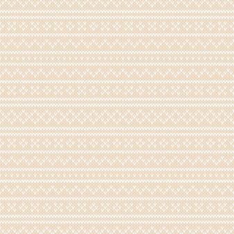 Wintervakantie fair isle gebreid patroon. breien wol textuur