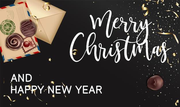 Wintervakantie vieren, vrolijk kerstfeest en gelukkig nieuwjaar