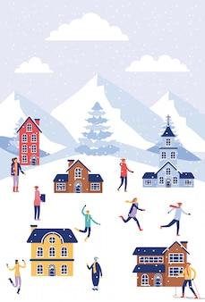 Wintervakanties kerstmis