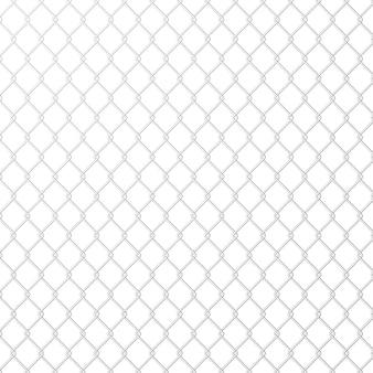 Wire mesh staal metaal op witte achtergrond.