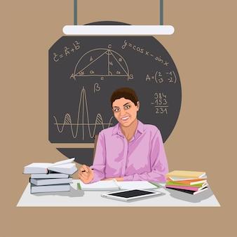 Wiskunde leraar