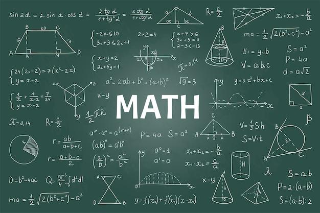 Wiskundige theoretische formules en vergelijkingen