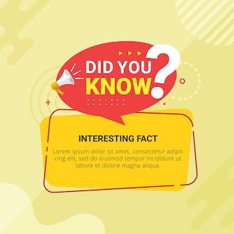 Wist je dat banner voor onderwijs en reclame?