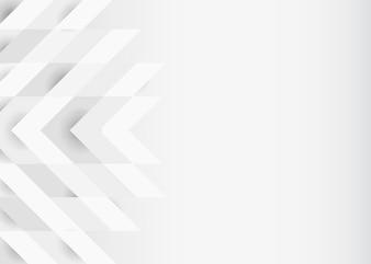 Wit 3D modern ontwerp als achtergrond