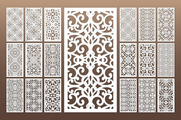 Wit decoratief gestanst naadloos patroon