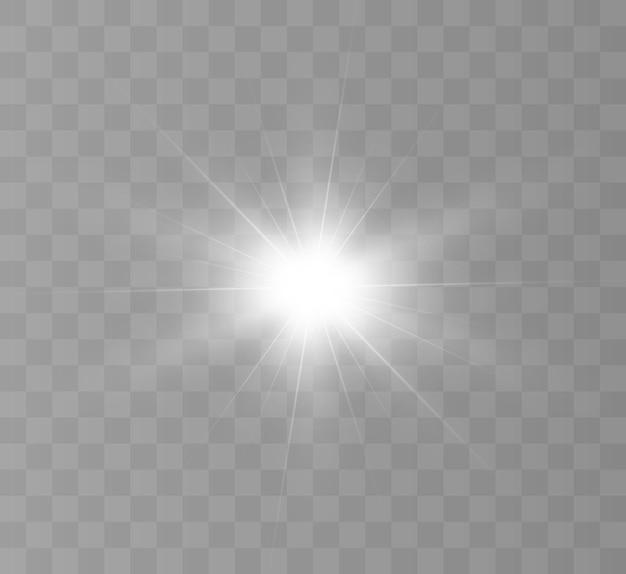 Wit gloeiend licht