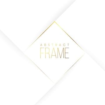 Wit gouden abstracte koninklijke achtergrond
