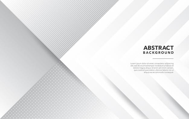 Wit grijs modern abstract ontwerp als achtergrond