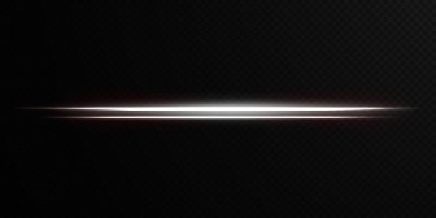 Wit horizontaal licht lens flares pack laserstralen horizontale lichtstralen mooi licht