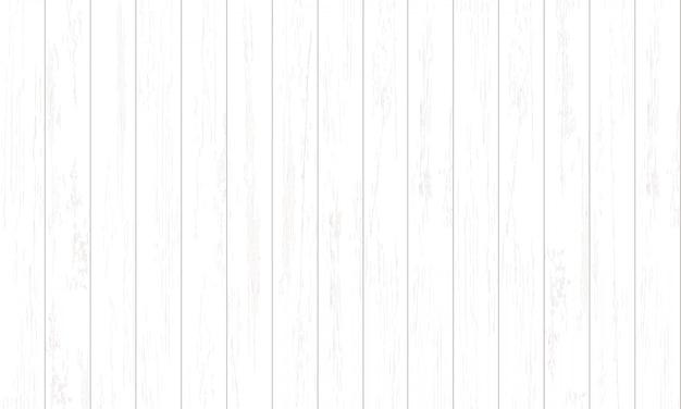 Wit houtpatroon en textuur voor achtergrond.