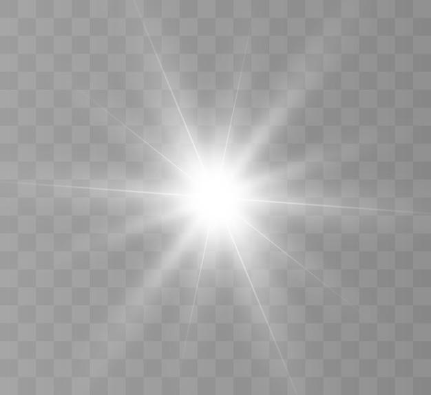 Wit mooi licht. bright star, heldere flits