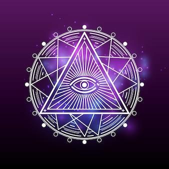 Wit mysterie, occultisme, alchemie, mystiek esoterisch