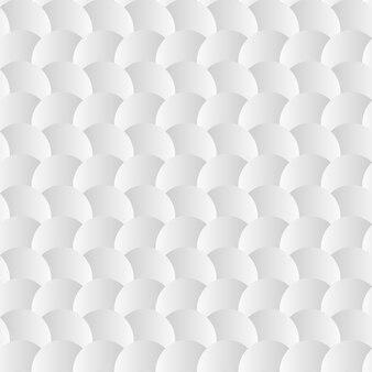 Wit naadloos patroon als achtergrond met document cirkels