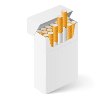 Wit pakje sigaretten