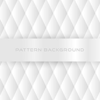 Wit patroonontwerp als achtergrond.