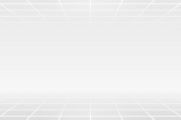 Wit rasterpatroon op een grijze achtergrond