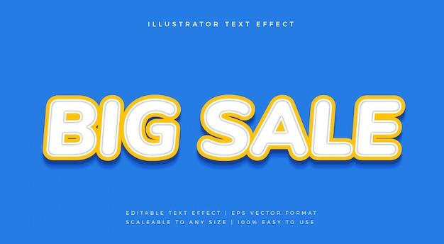 Wit uitgesneden tekststijl lettertype-effect