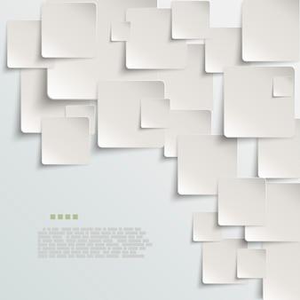 Witboek abstracte vector achtergrond