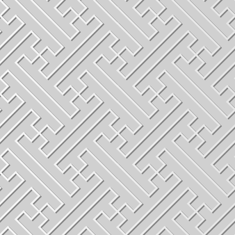 Witboekkunst polygon spiral cross tracery line, stijlvolle decoratie patroon achtergrond voor webbanner wenskaart