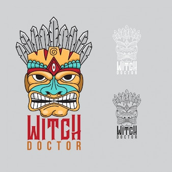 Witch doctor-logo