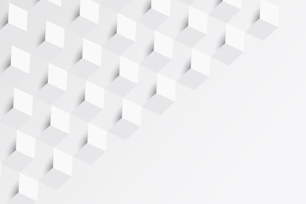 Witte abstracte achtergrond in papierstijl
