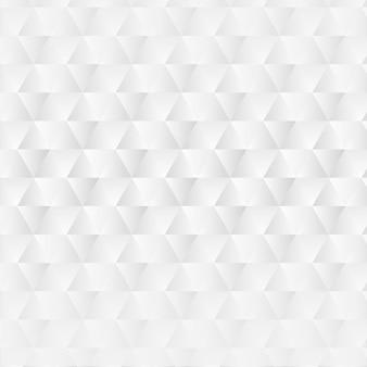 Witte abstracte achtergrond met geometrische vormen
