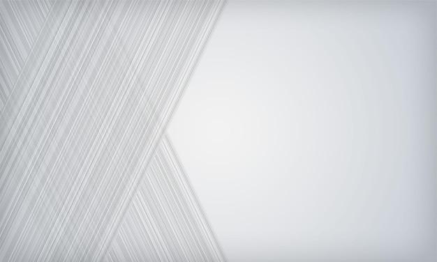 Witte abstracte achtergrond met moderne gestreepte textuur