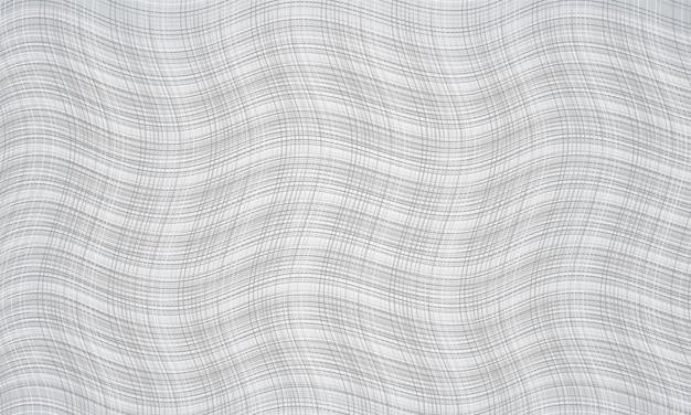 Witte abstracte achtergrond met moderne golvende gestreepte textuur