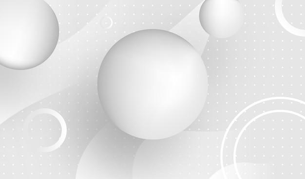 Witte abstracte achtergrond vector