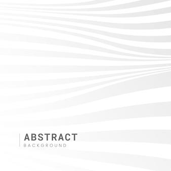 Witte abstracte achtergrondontwerpvector