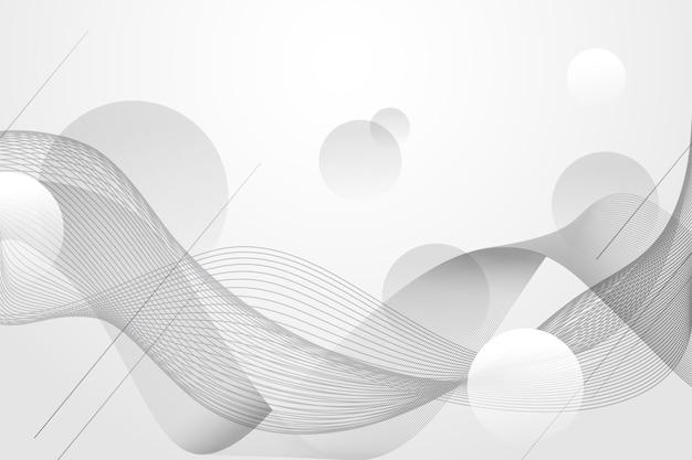 Witte abstracte achtergrondstijl