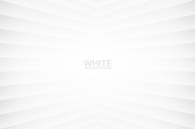 Witte abstracte geometrische achtergrond