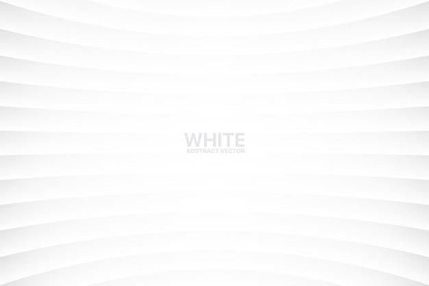 Witte abstracte geometrische eenvoudige achtergrond