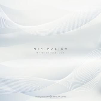 Witte achtergrond, golvende vormen