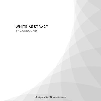 Witte achtergrond met abstract ontwerp