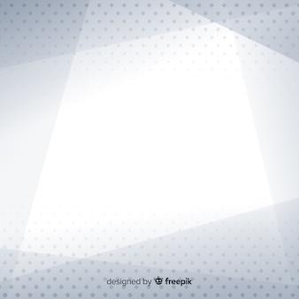 Witte achtergrond met abstracte stijl