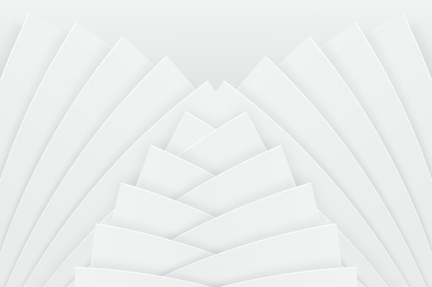 Witte achtergrond met dynamische vormen