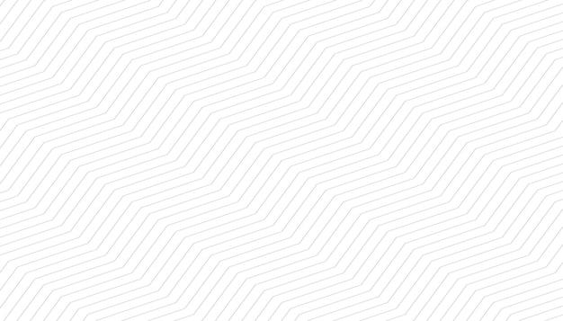 Witte achtergrond met zigzagpatroon