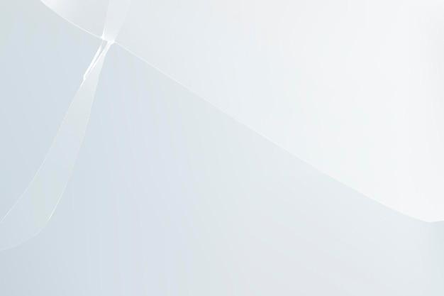 Witte achtergrondvector met gebroken glaseffect