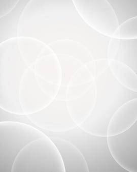 Witte bokeh ring achtergrond voor ontwerp gebruikt