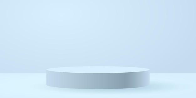 Witte cirkel podium
