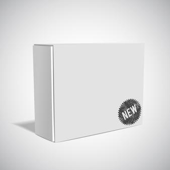 Witte doos mockup
