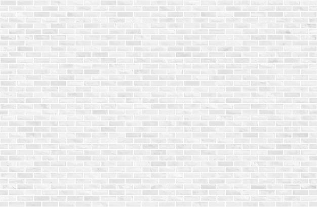Witte en grijze blok bakstenen muur naadloze patroon textuur achtergrond.
