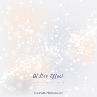 Witte glitter deeltjes achtergrond