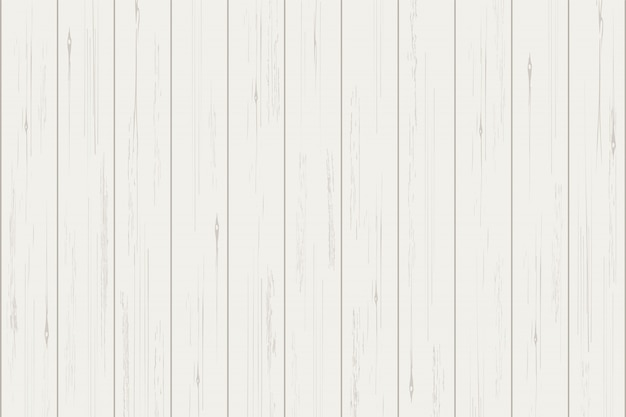 Witte houten planktextuur voor achtergrond.