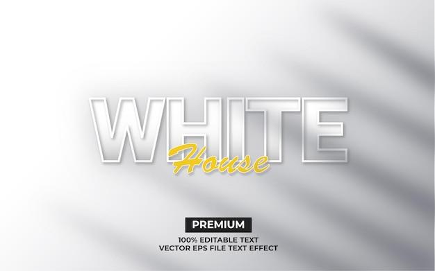 Witte huisteksteffect