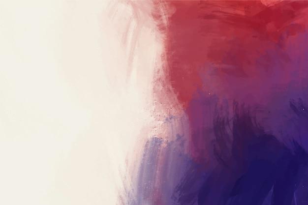 Witte kopie ruimte en kleurrijke handgeschilderde achtergrond