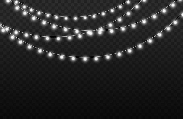 Witte lichtslinger led neonlichten kerstversieringen