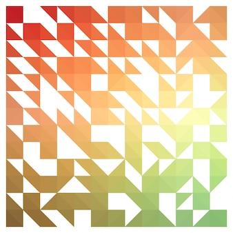 Witte melkwegachtergrond met kleurrijke designelementen