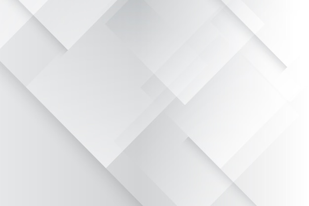 Witte monochrome achtergrond in verloopstijl